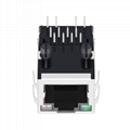 SI-51009-F Single Port RJ45 Connector with 1000 Base-T Applications In Routers