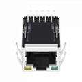 5-6605811-1 Single Port  Integrated RJ45 Connector with 1000 Base-T Magnetics