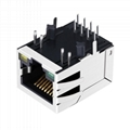 48F-09AHANDXNL | RJ45 Connector with 1000Base-T Integrated Magnetics Without Led