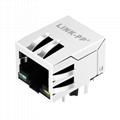 48F-01GY2DPL2NL 1x1 Port RJ 45 Modular Plugs Ethernet RJ45 Connector
