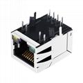 XFAMT6SA-CLGY1-4MS 1 Port RJ 45 Modular Plugs RG45 RJ45 Connector