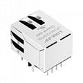 SI-60118-F 1x1 Port RJ45 Connector 8P8C Ethernet Jack