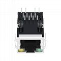 SI-55004-F 1 Port 8P8C Connector RJ45 Modular Plug
