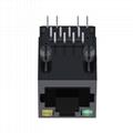 SI-80007-F Amp RJ45 Cat6 Modular Jack Without LED