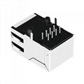 J1011F32NL 10/100 Base-T 1X1 Port Ethernet RJ45 Magjack