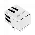 XRJG-01J-4-D98-110 10/100 BASE-T Amp Tyco RJ45 Connector For Network card