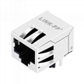 HFJ11-S114ERL 10/100 Base-T RJ45 Shielded Connector with Integrated Magnetics