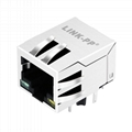 HY911103H 1X1 Ethernet RJ45 Magjack with 10/100 Base-T Magnetics