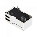 0826-1DX1-32-F RJ45 Connector With Gigabit Integrated Magnetics