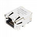J0G-0001NL Low Profile RJ-45 Connector With Gigabit Integrated Magnetics