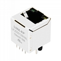 XMV-9813-8812-S0L2T1-B Vertical RJ45 Connector with Integrated Magnetics