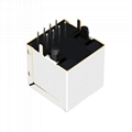 RJ-180A03A Vertical RJ45 Modules with 10/100 Base-T Integrated Magnetics