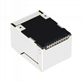 J3026G01DNL Shielded 1 Port SMT Jack RJ45 Ethernet RJ-45 Connector