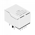 HR911129A 10/100 Base-T Shielded RJ45 Connector with Led Light