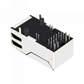 0826-1X1T-M1-F | 90 Degree Ethernet RJ45 8 Pin Connector