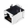 KLU1S041X LF 1X1 Port RJ45 8P8C Jack with Magnetics Without LED