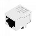 HY901129A 10/100 Base-T Single Port RJ45 Female Socket with Magnetics