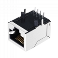 LU1S041X LF 10/100 Base-T 1 Port Jack RJ-45 Connector with Integrated Magnetics