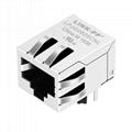 HFJ11-1G02AA / HFJ11-1G02EAA Single Port 8P8C RJ45 Modular Jack Without LED
