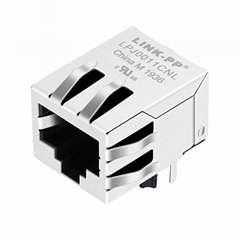 J00-0061NL Single Port Modular Jack RJ45 Connector