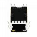 0810-1X1T-03 Single Port RJ45 Ethernet Connector