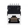 KLA1S109 LF 1000 Base-t Single Port RJ45 Magnetics Connector Module