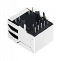 JKM-0001NL Tab Down 1000 Base-t 1X1 Port RJ45 Ethernet Connector 2