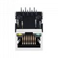 J0026D01BNL 1X1 Port 100 Base-TX 8 Pin RJ45 8P8C Female Connector