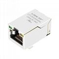 J3026G01DNLT 10/100 Base-T 8P8C SMT RJ 45 Modular Connector Plugs
