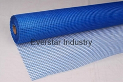 Fiberglass mesh used in the floor heating system