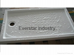 Rectangle acrylic shower tray