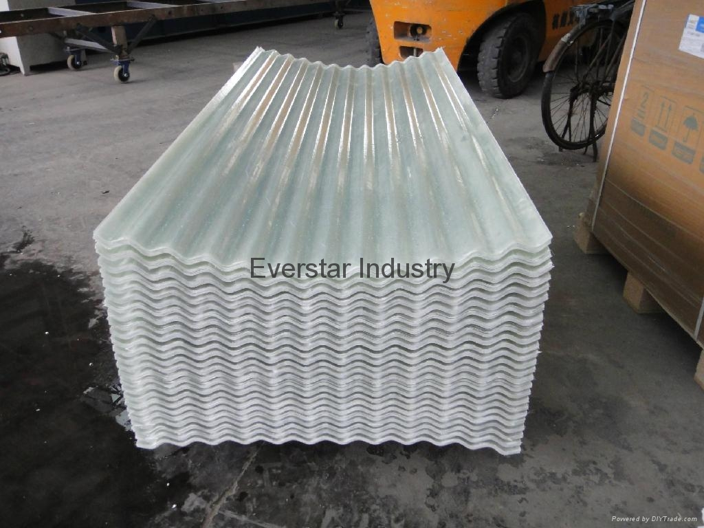 Fiberglass Corrugated Sheet For Greenhouse Es 24