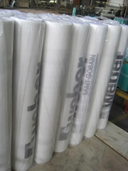 Fiberglass mesh fabric with Logo