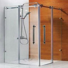 Simple Shower Enclosure Room with Aluminum Frame (Hot Product - 1*)