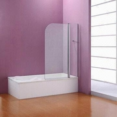 Shower Panel with Tempered Glass and Aluminum Alloy