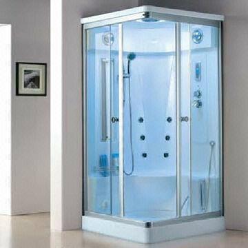 Luxury Glass Steam Shower Sauna Room 1