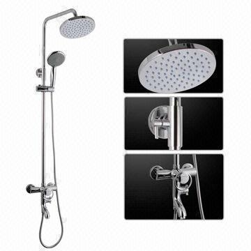 Luxury Thermostatic Round Rainfall Shower Sets 1