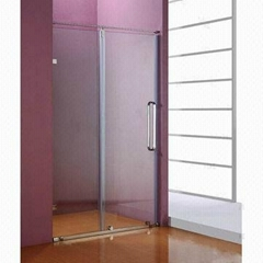 Shower Screen with Tempered Glass and 304# Stainless Steel