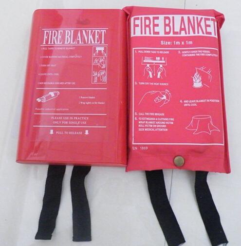 Fiberglass fire blanket,kitchen blanket,welding blanket,fire curtains 1