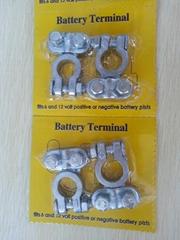【廠家直銷】高品質蓄電池接頭,電瓶接頭,銅接頭,鋅合金接頭