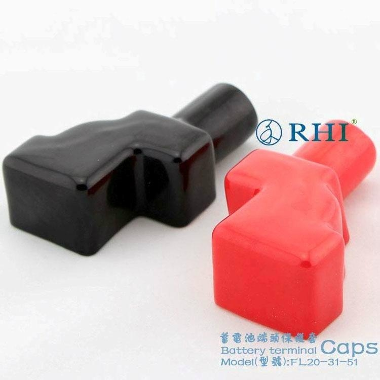 Insulated Battery Cable : Battery terminal covers soft insulated