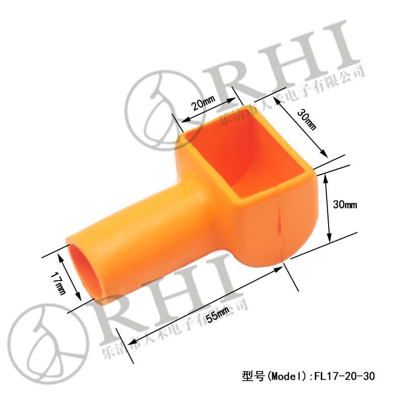 硅橡胶电池正负极保护帽 1