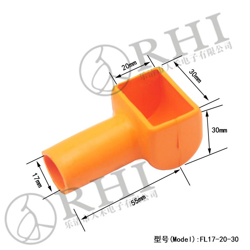 Silicone Rubber Battery Cable End Caps