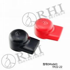 蓄電池連接銅排保護套連接片絕緣保護套