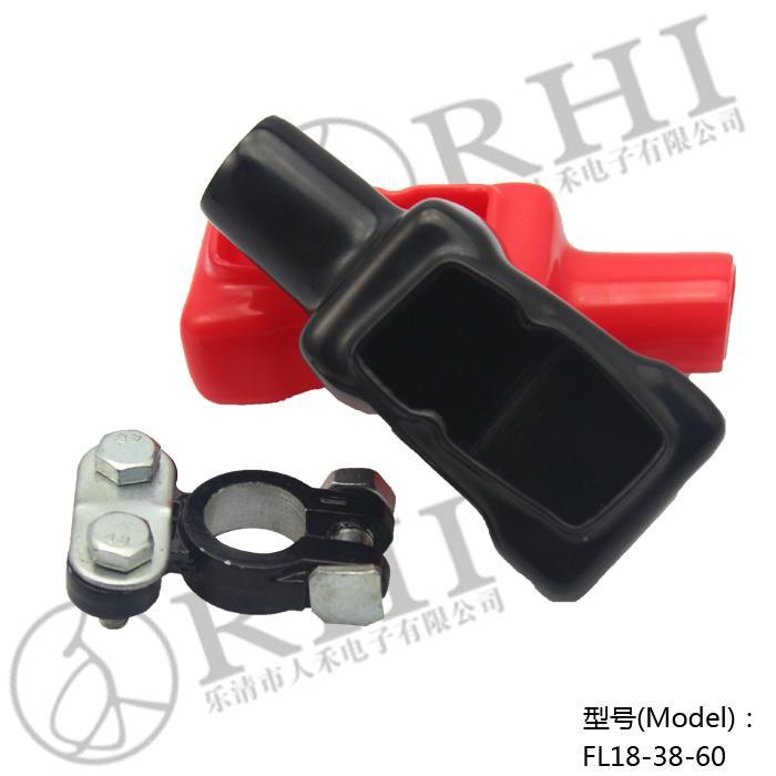 人禾電子PVC護套 摩托車 汽車電瓶夾絕緣護套 5