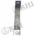 flexible braided busbar, copper wire connector