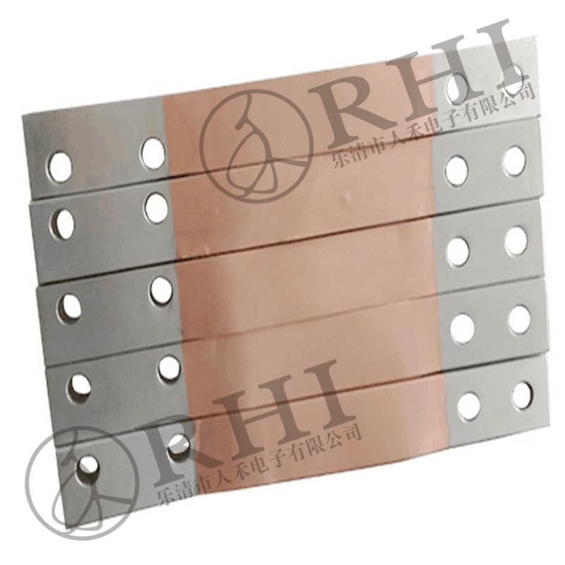 tin plating copper bar ground bus bar - 铜箔软连接 - RHI