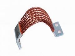 定制新能源电池母排连接 正负极柔性母排 铜编织带