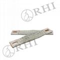 copper flexible braided busbar earthing straps