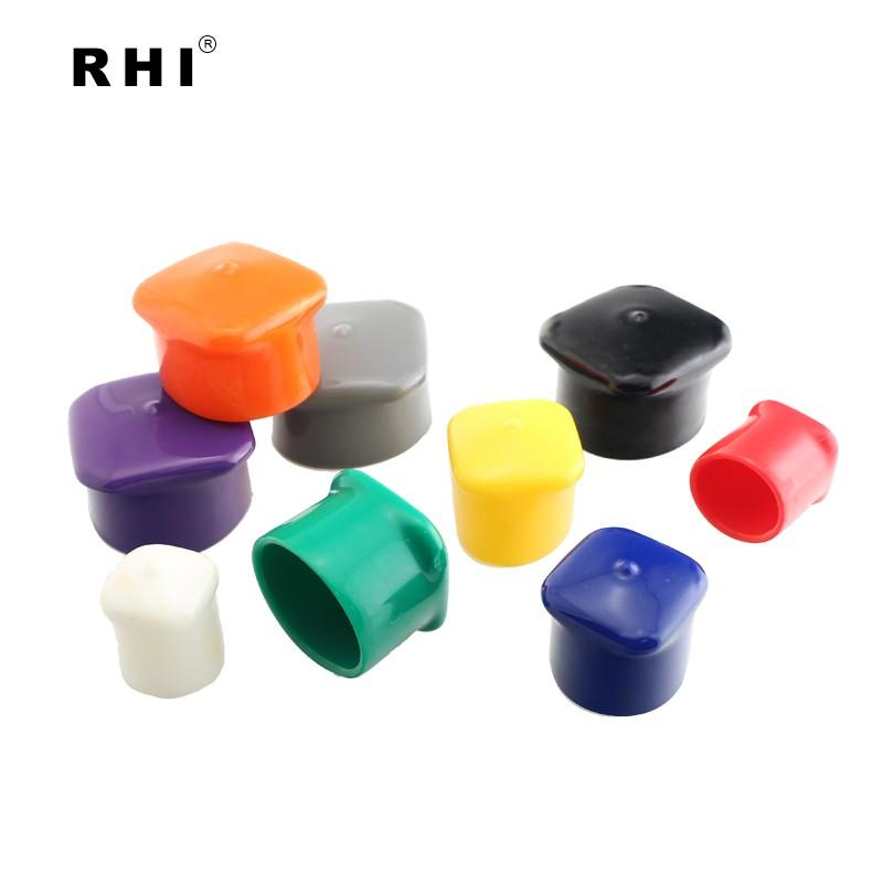 Square Vinyl Anti-Roll Caps